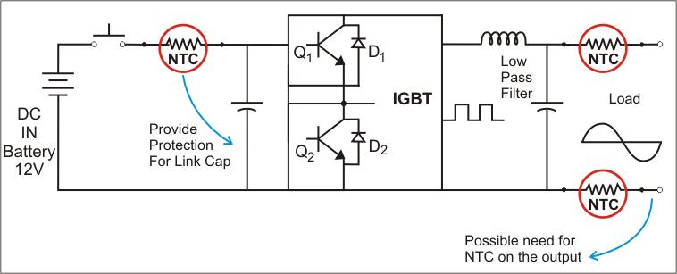 Inrush Current Inverter Circuit