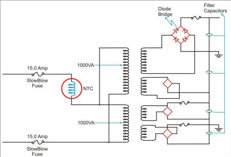 Transformer Inrush Schematic