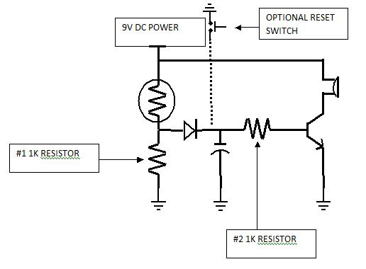 thermistor temperature detection circuit