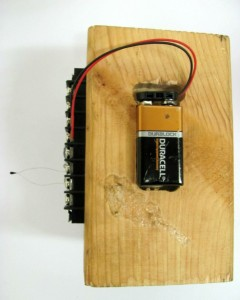 Arduino using 9 volt battery
