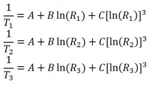 Steinhart and Hart Equations 2-4