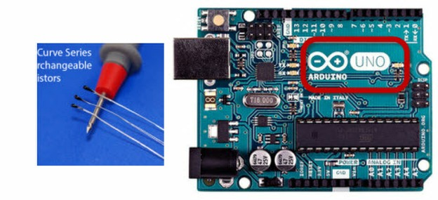 Arduino Uno Microcontroller using Ametherm ACC 001