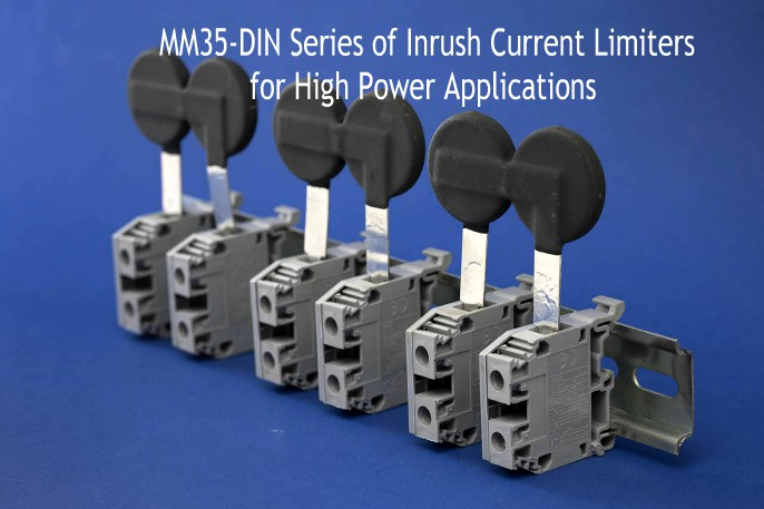 MM35 DIN Inrush Current Limiters