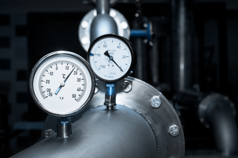 Temperature Measurement of fluid under pressure